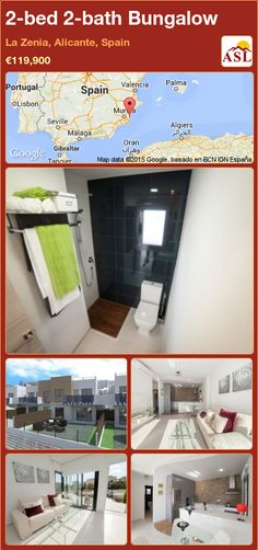 2-bed 2-bath Bungalow in La Zenia, Alicante, Spain ►€119,900 #PropertyForSaleInSpain