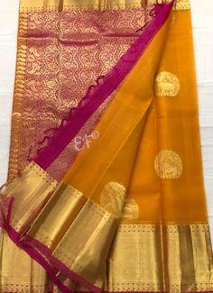Exclusive Kanchi kora Saree Order this no Elegant Fashion Wear, Trendy Fashion, Kora Silk Sarees, Beautiful Saree, Indian Designer Wear, Indian Bridal, Blouse Designs, Indian Fashion, Actresses