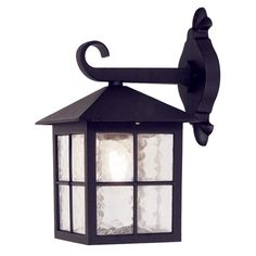 Winchester black aluminium period British down light wall lantern by Elstead Lighting. Outdoor Wall Lantern, Outdoor Wall Sconce, Outdoor Wall Lighting, Sconce Lighting, Outdoor Walls, Winchester, Candle Sconces, Wall Sconces, Style Anglais