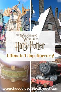 The Wizarding World of Harry Potter ultimate one day itinerary