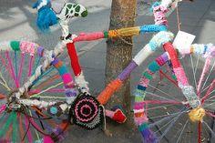 bicicleta de tricot en Islandia