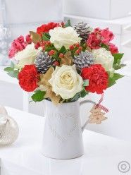 Order flowers online from Interflora. Christmas Flower Delivery, Best Flower Delivery, Online Flower Delivery, Flower Delivery Service, Christmas Flowers, Online Flower Shop, Order Flowers Online, Valentines Flowers, Mothers Day Flowers