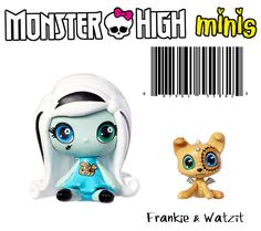 Monster High Mini Frankie & Pet