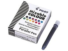 [regalado] 5,97€ Pilot Set of 12 Cartridges for Parallel Pen - Tinta de repuesto (Multi)