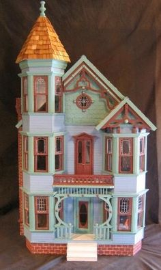 victorian dollhouses | painted lady victorian | Dollhouses