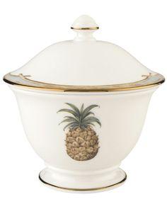 Lenox British Colonial Sugar Bowl