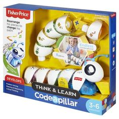 Fisher Price Think and Learn Code-a-pillar
