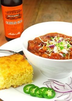 Chili- Great recipe! I subsituted the hot links and used 1 1/2lb Grass fed Ground Sirloin