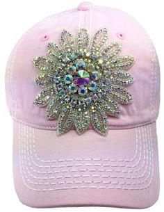 f5ad8b07967 Items similar to Ladies Pink Baseball Cap