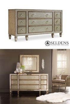 Sanctuary Dresser - Hooker Furniture