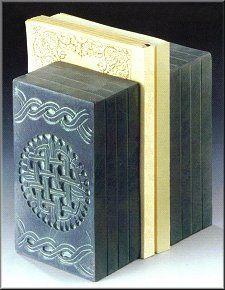 Celtic bookends