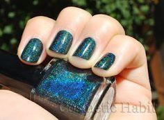 Glitter Gal 'Lizard Belly' 3d holo