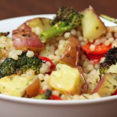 Healthy Veggies and Couscous
