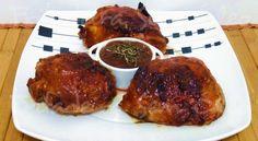 Frango à Moda Australiana na AirFryer Multi Cooker Recipes, Air Fry Recipes, Air Flyer, Multicooker, Tandoori Chicken, Fries, Steak, Good Food, Pork