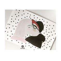 #illustration #miameide #print #couple #minimalistic #contemporary #pattern #dots #pinkhair