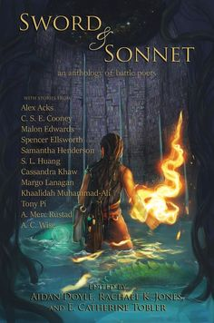 3 reasons why you should back the 'Sword and Sonnet' anthology on Kickstarter: ⚔️ Stories by awesome authors like Cassandra Khaw, Malon Edwards, Alex Acks, C.S.E. Cooney and others! ⚔️ BATTLE POETS! ⚔️ Open submission call for stories if they're funded