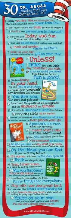 Dr. Seuss quotes are the best! #quotes #drseuss
