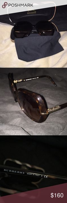 ebc9e2a107 Burberry sunglasses NEW BURBERRY GLASSES! comes with case and wipe. Never  worn bought years