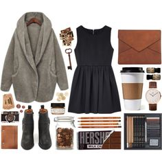 Cozy up by hanaglatison on Polyvore featuring moda, My Mum Made It, Jeffrey Campbell, Daniel Wellington, Farmaesthetics, Chloé and C.R.A.F.T.