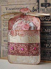 tea bag holder tag