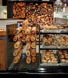 bagel display