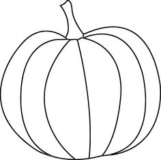 heres a pumpkin digital stamp for fall and thanksgiving projects - Pumpkin Coloring Template
