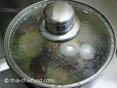 ปิดฝาต้มเคี่ยวไฟอ่อนๆ Melon Soup, Bitter Melon, Pudding, Desserts, Food, Tailgate Desserts, Deserts, Custard Pudding, Essen