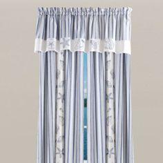 Seaside Window Curtain Panel, 100% Cotton - BedBathandBeyond.com