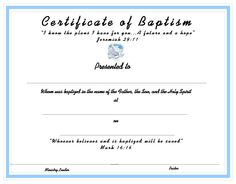 how to get a copy of your christening certificate