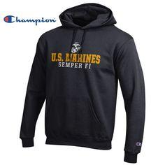 Champion Marines Hoodie | Marine Corps Direct | Quality USMC gear and clothes | marinecorpsdirect.org | USA