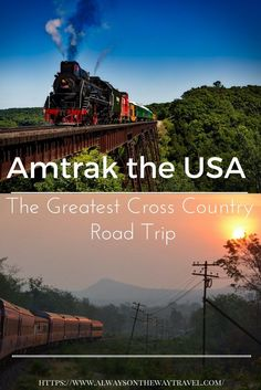 Amtrak the USA: my experience of crossing six US states by train in photos.