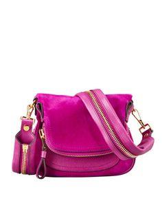 Tom Ford i love you. Jennifer Suede Mini Crossbody Bag - Neiman Marcus