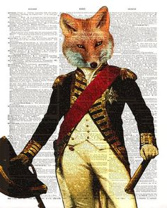 picture of black forest decor fox portrait - Google Search