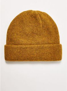 2a6adad1 Get prepped for the colder morning with this mustard beanie now that it's  15% OFF