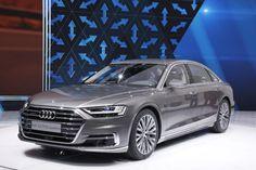 Audi A8 2017 salon de Francfort 2017 3/4 avant