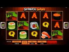 Play So Much Sushi at Platinum Play Casino in September, part of the So Much More slot game series this game is offers more jackpots and bonuses than the ave. Sushi Online, Play Casino, Casino Night, Slot Machine, Free, Spinning, Symbols, Japanese, Games