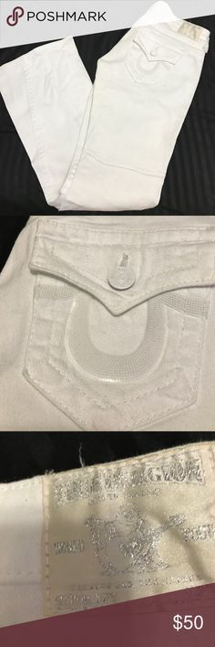 NWOT Women's true religion jeans Authentic, Brand-new never worn, size 28 inseam 32 True Religion Jeans Flare & Wide Leg