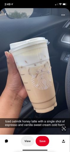 Low Calorie Starbucks Drinks, Healthy Starbucks Drinks, Yummy Drinks, Starbucks Secret Menu Drinks, Starbucks Coffee, Coffee Drink Recipes, Coffee Drinks, Starbucks Specials, Smoothie Drinks