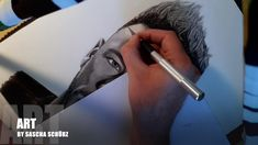 Drawing Neymar Jr Júnior Brazil realistic Pencil and Charcoal Portrait by Sascha Schürz Drawing Tutorials For Beginners, Charcoal Portraits, Neymar Jr, Pencil Drawings, Sketches, 3d, Black And White, Awesome, Face