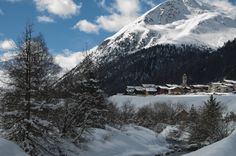 St.Joseph's day - in Livigno can also snowing in August