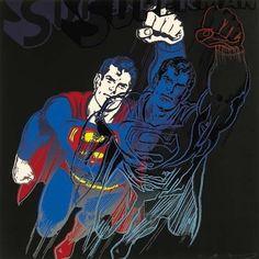 Superman | Andy Warhol, Superman (1981)