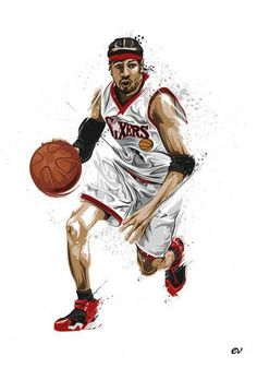 660c25993 Allen Iverson by earlsonvios on deviantART  basketballquotes Basketball  Tricks