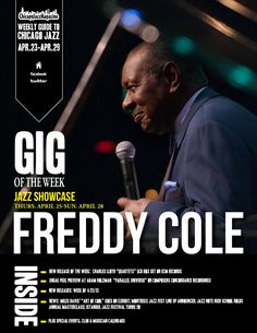 This Week's Guide to Chicago Jazz brought to you by Chicago Jazz Magazine  Chicago Jazz Magazine's weekly Ezine featuring Chicago's finest working jazz musicians with bio's & profiles, interactive links, performance schedules, jazz clubs, restaurants, venues, special events, news and new CD releases.