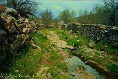 Año 2007: La Calzada Romana de Acceso al Yacimiento Madrid, Golf Courses, Country Roads, Romans