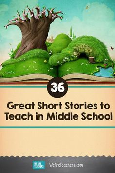 36 Great Short Stories to Teach in Middle School 36 Great Short Stories to Teach in Middle School. The best short stories for middle schoolers to keep their attention and encourage them to read more. Recommended by teachers! Teaching Short Stories, Short Stories To Read, Short Stories In English, Ap English, Middle School Reading, Middle School English, Poems For Middle School, Middle School Literacy, Middle School Libraries
