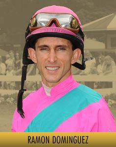 Ramon Dominguez - top jockey on the NYRA circuit, and one of the best jockeys in the US
