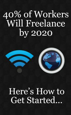of Workers Will Freelance by How to Get Started Career Opportunities, Career Advice, Career Exploration, Office Humor, Career Planning, Young Adults, How To Get, How To Plan, You Working