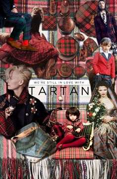 Holiday Magic♡♡♡ I love all things tartan! Scottish Plaid, Scottish Tartans, Wallace Tartan, Tartan Plaid, Tartan Decor, Tartan Dress, Tartan Fashion, The Scout Guide, Harris Tweed