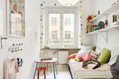 ideas for the bonus room Toddler And Baby Room, Kids Bedroom, Bedroom Decor, Magazine Deco, Creative Kids Rooms, Little Girl Rooms, Room Inspiration, Design, Home Decor