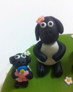Petiscos da Sofia: Bolo de aniversário infantil - ovelha choné